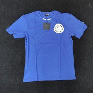 Moncler Palm Angels Navy Blue NWT Tshirt
